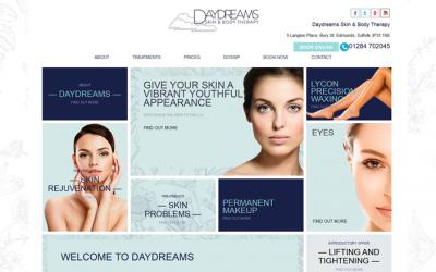 Daydreams new website promotes Venus Viva