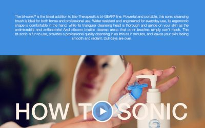 Technology accelerated skincare